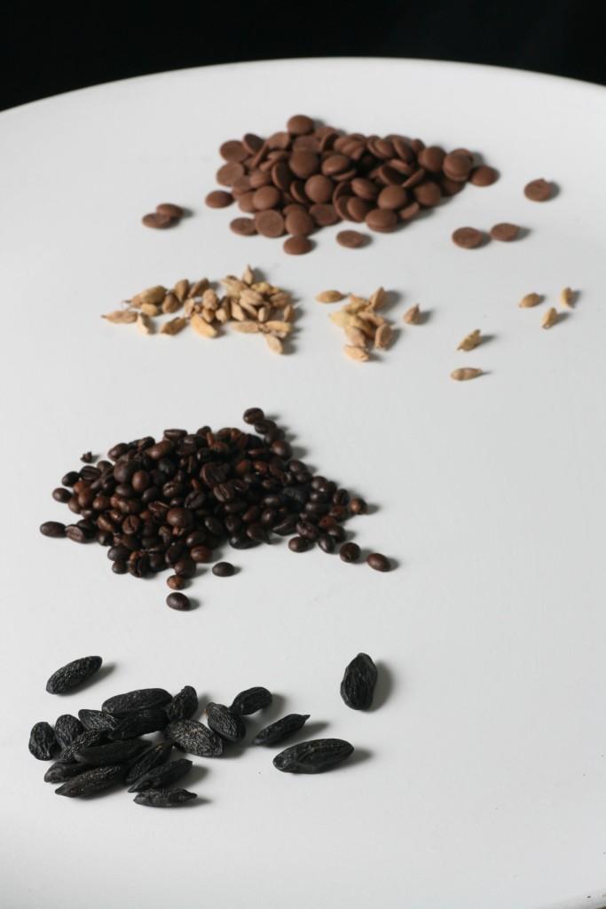 heiße Schokolade, Orange, Ingwer, Zartbitter Schokolade, weiße Schokolade, Kardamom, Sahne, Kaffee, Trinkschoki, Tonka