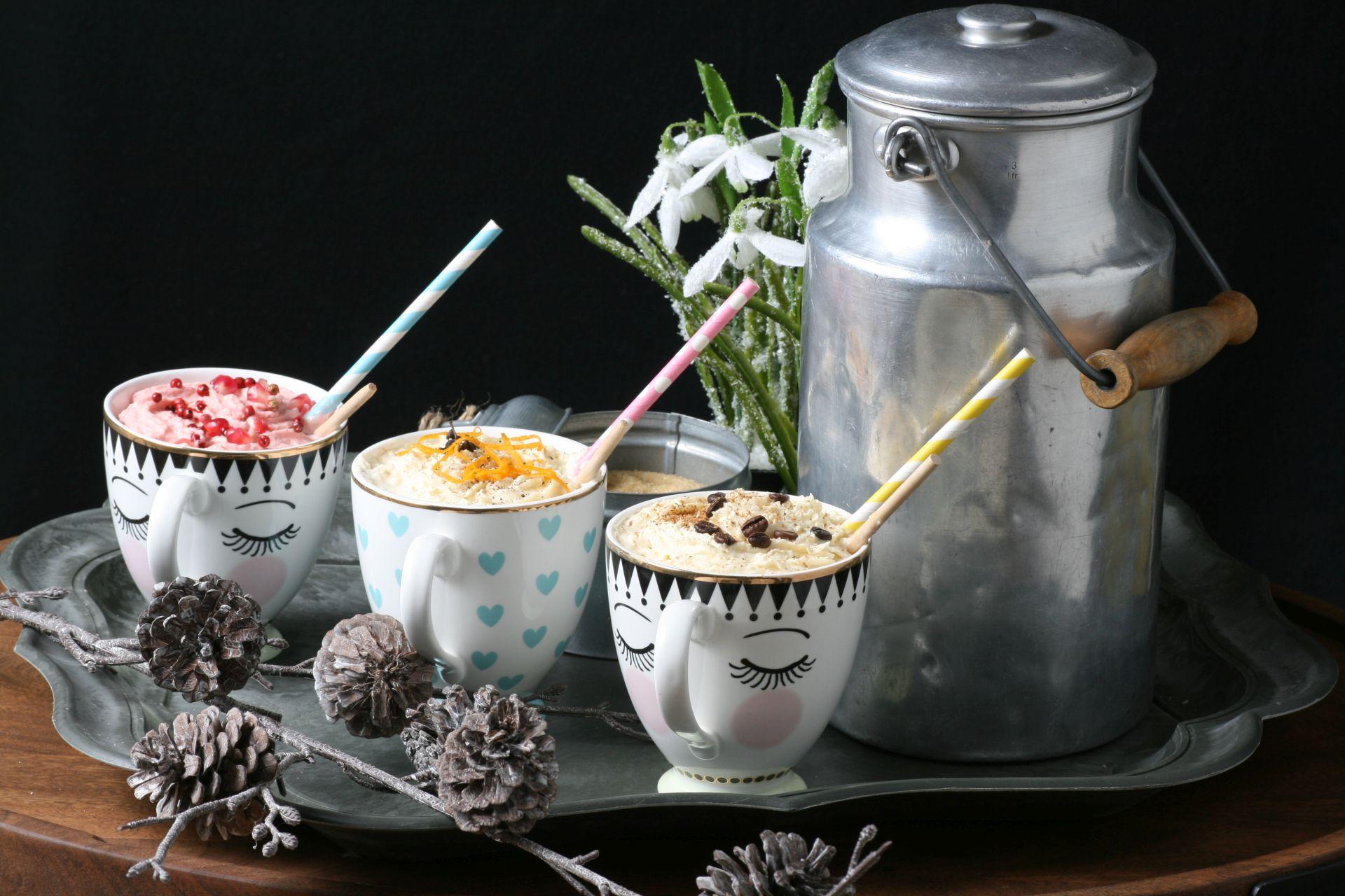 heiße Schokolade, Orange, Ingwer, Zartbitter Schokolade, weiße Schokolade, Kardamom, Sahne