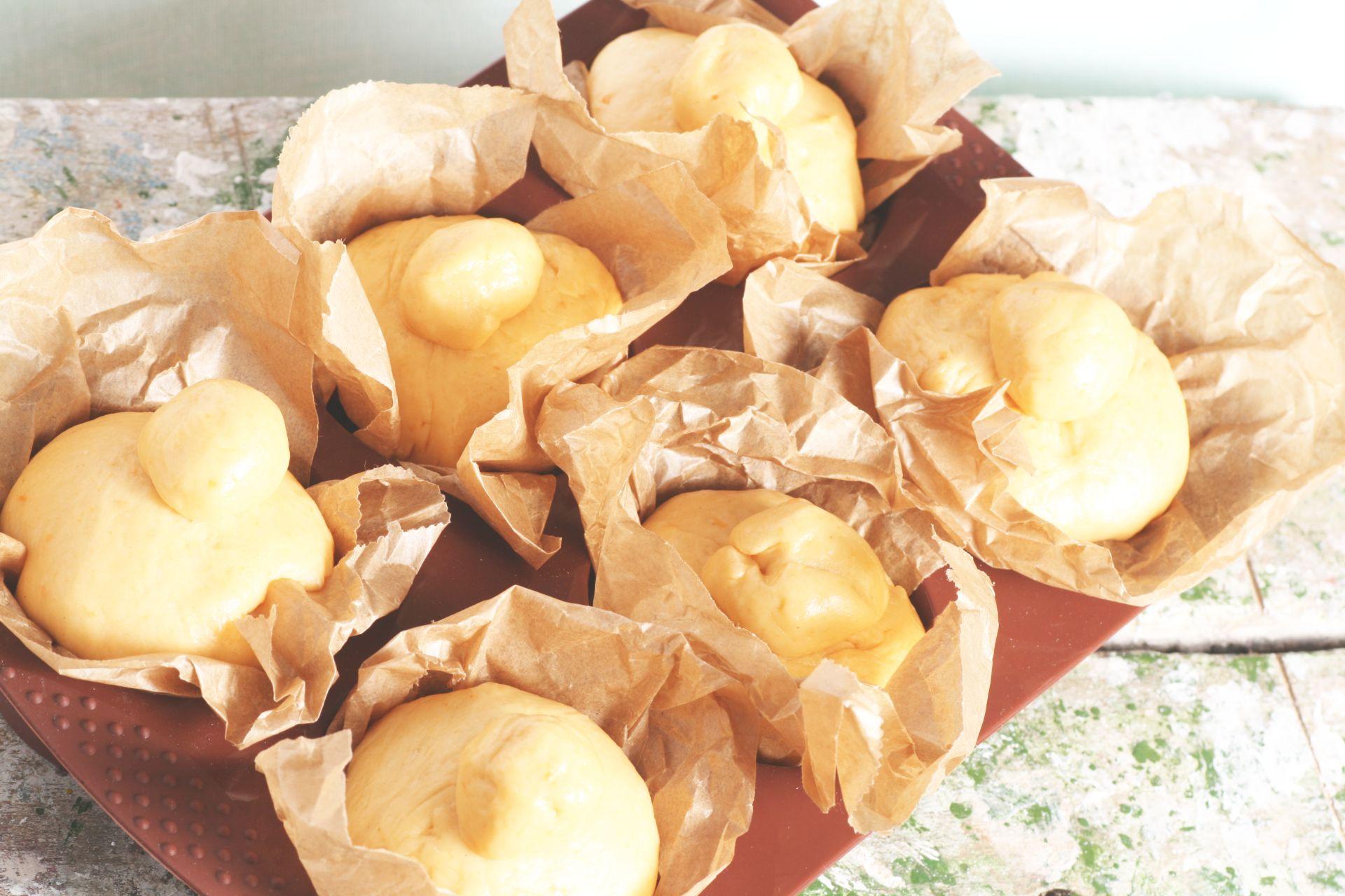 Brioche, Hefeteig, Süßkartoffel