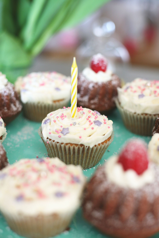 Geburtstagstörtchen, Gugls, Cupcakes, Geburtstag