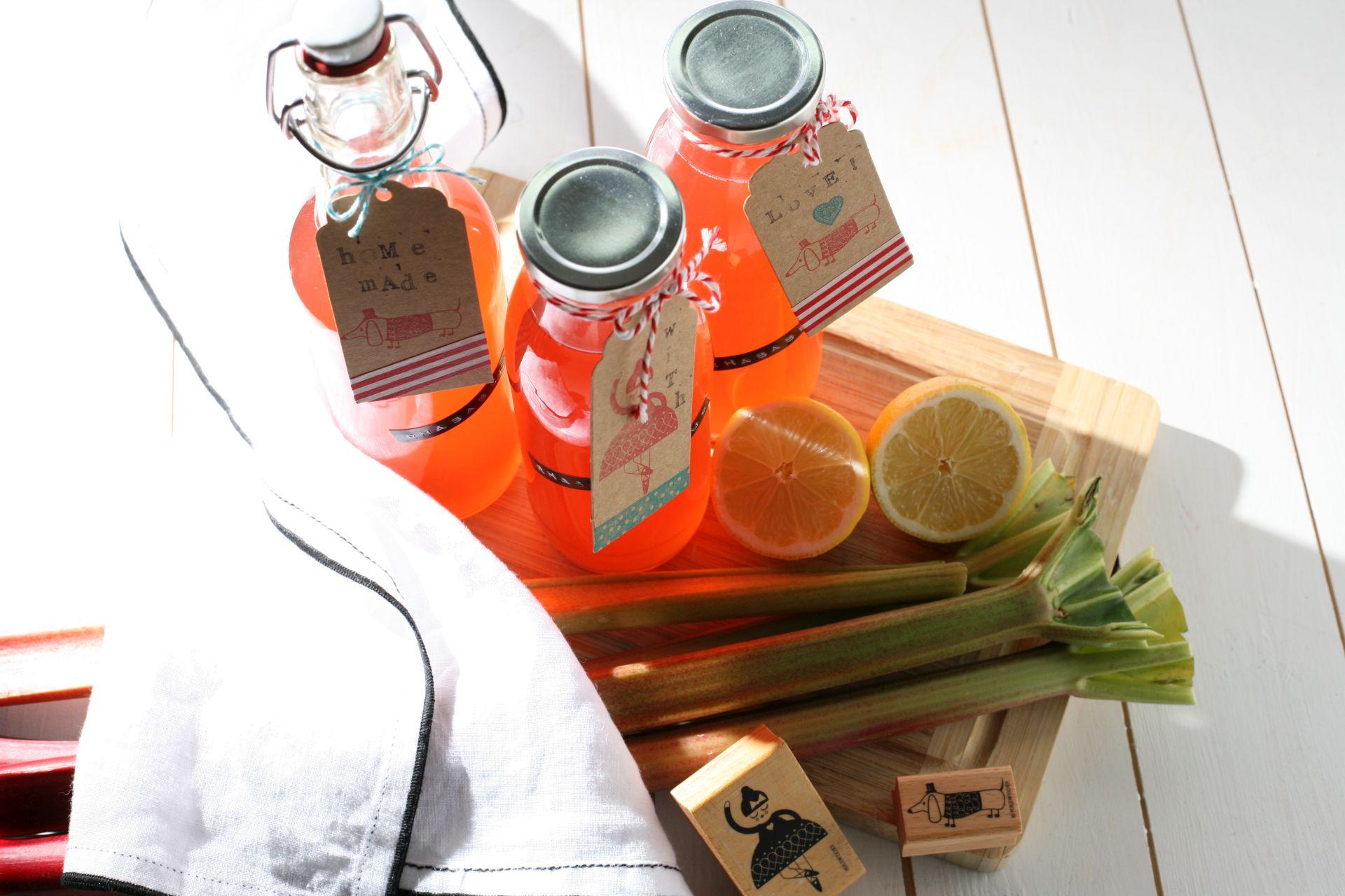 Rhababersirup Rezept, Frühling, Limonade