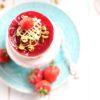 Erdbeer-Joghurt-Törtchen mit Rhabarber