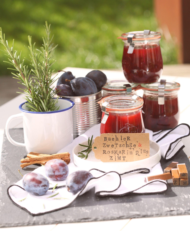 Rezept Für Zwetschgen Marmelade Mit Rosmarin Und Zimt