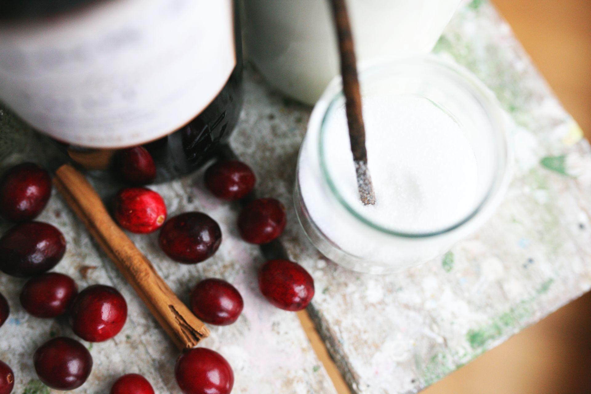 Milchreis_Cranberries