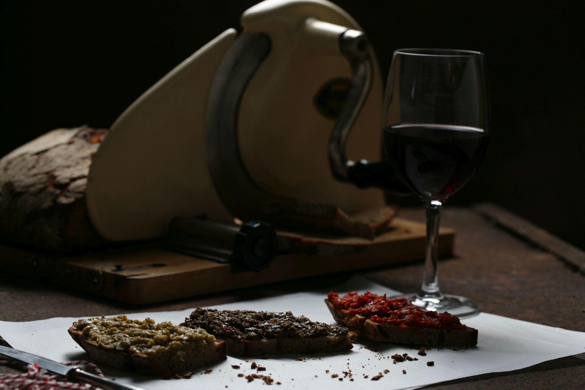 Rezept für dreilei Tapenade aus der Provence