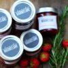 Die perfekte Erdbeermarmelade mit Rosmarin