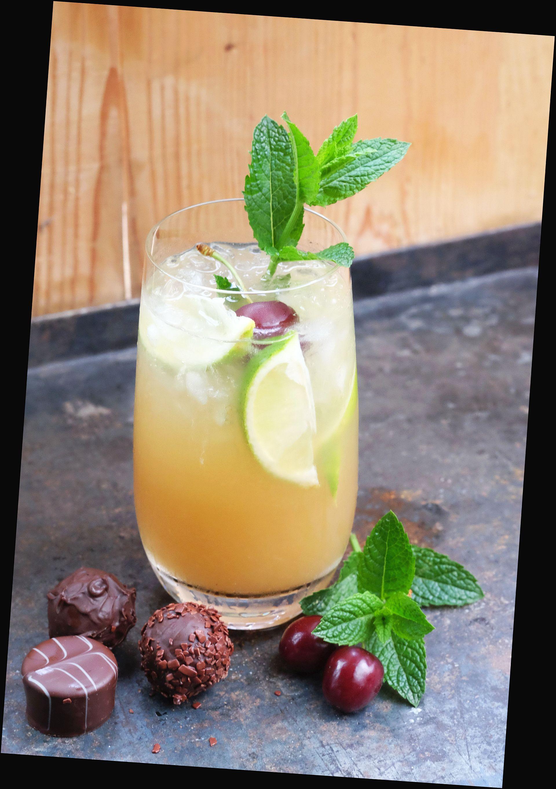 Mai Tai & dreierlei Rum Trüffel von der Confiserie Lauenstein