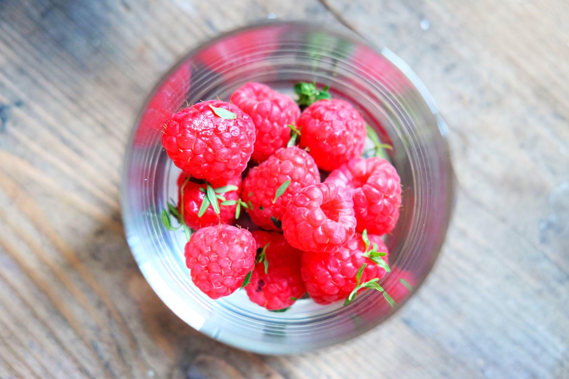 Raspberry Thyme Smash