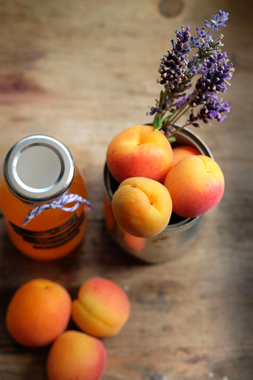 Aprikosen-Lavendel Sirup