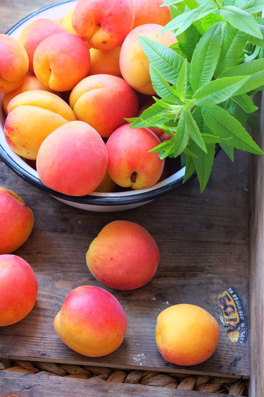 Aprikose trifft Zitronenverbene: Aprikosenmarmelade mal anders