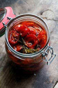Eingemachte Tomaten