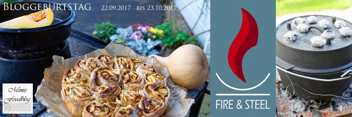 Fire & Steel: Geburtstagssause Mimis Foodblog