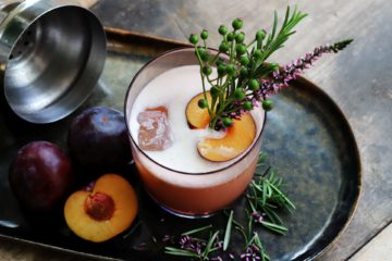 Whiskey Sour-Ginger-Plum