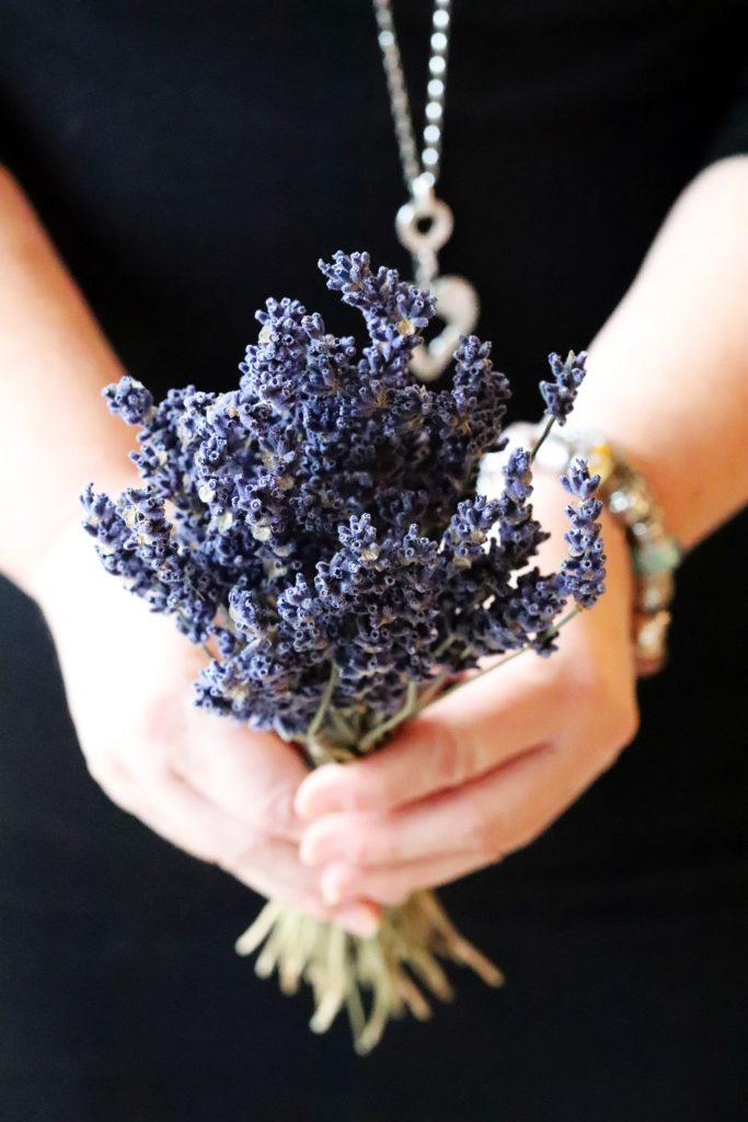 Lavendel-Madarinen-Smash
