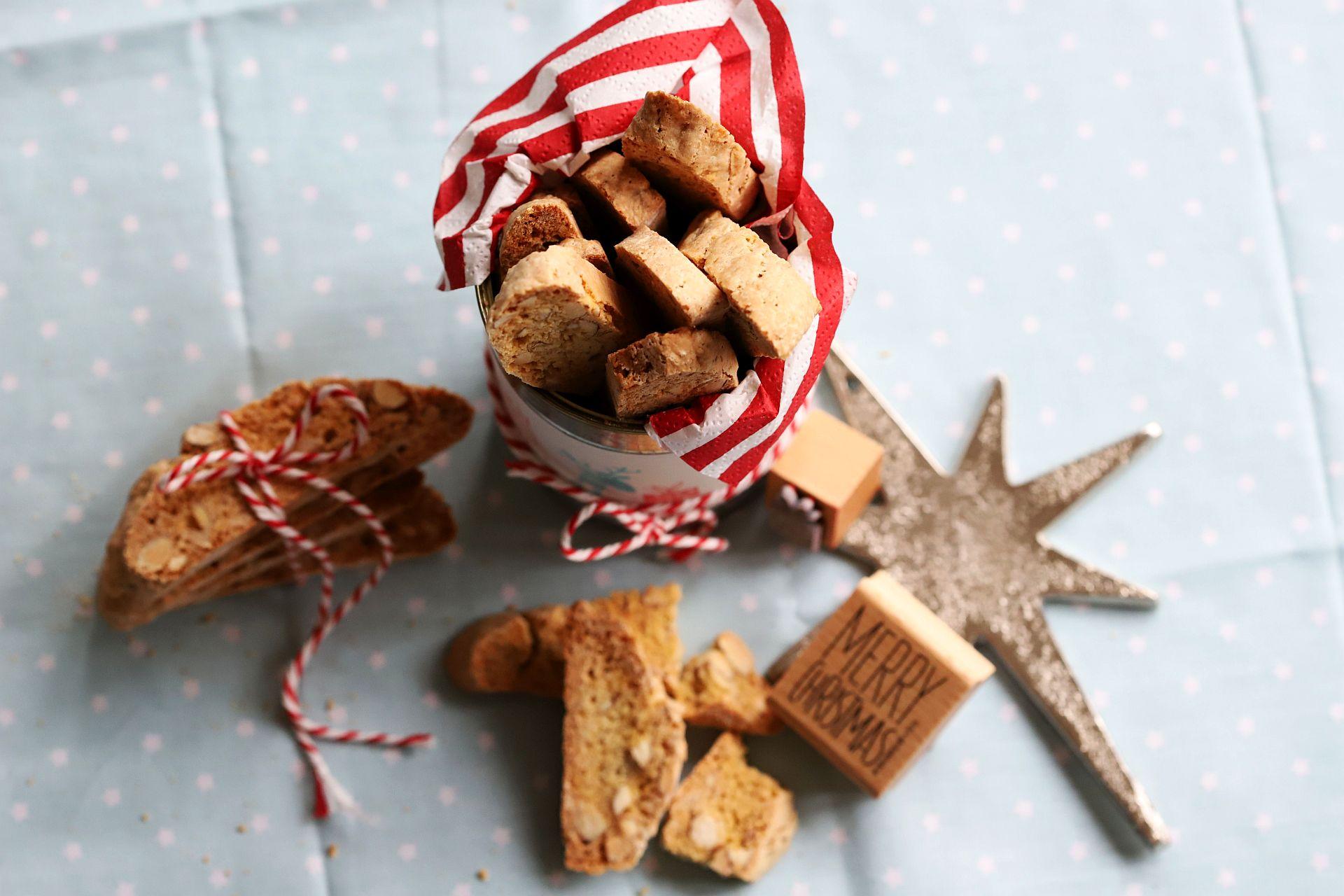 Weihnachtliche Cantucci