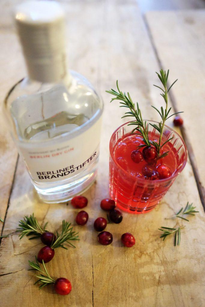 Cranberry Gin Fizz