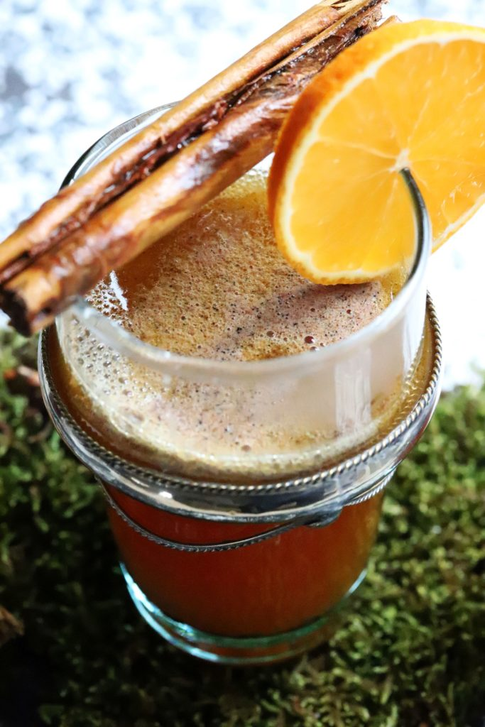 Hot buttered Rum Punch