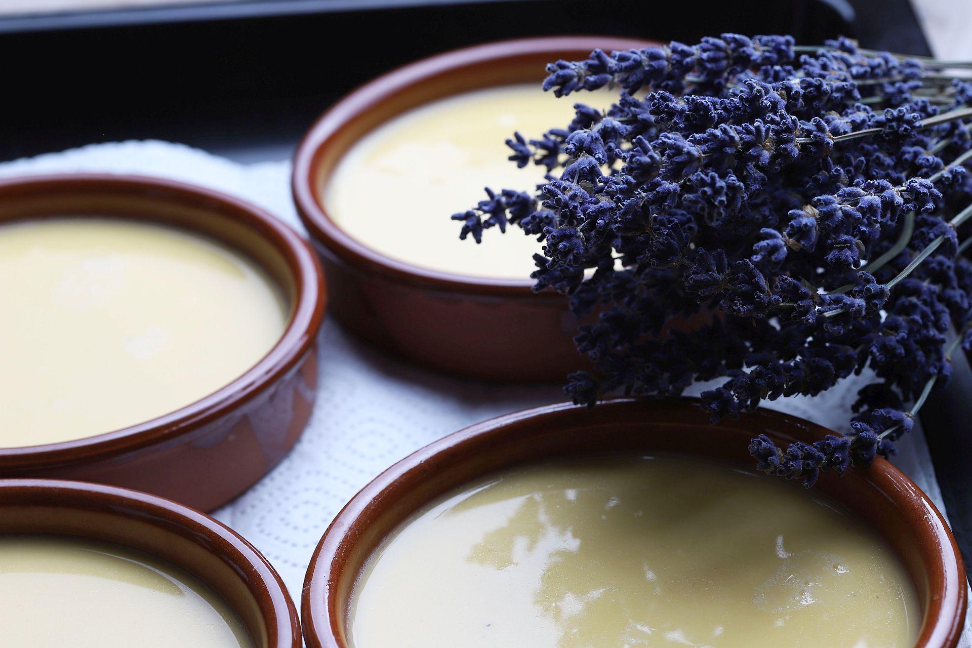 Ziegenkäse Crème brûlée