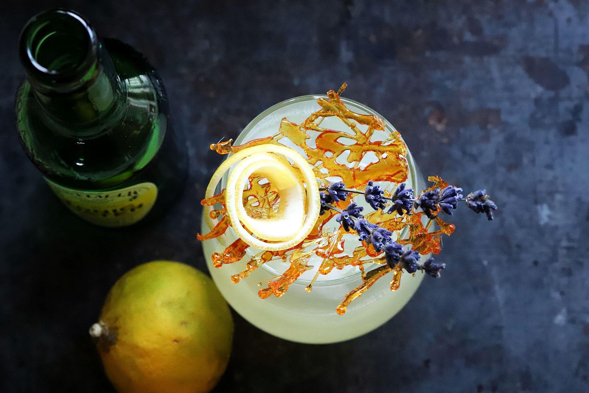 Gin Fizz mit Bergamotte