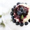Milchreistörtchen mit Heidelbeer-Topping