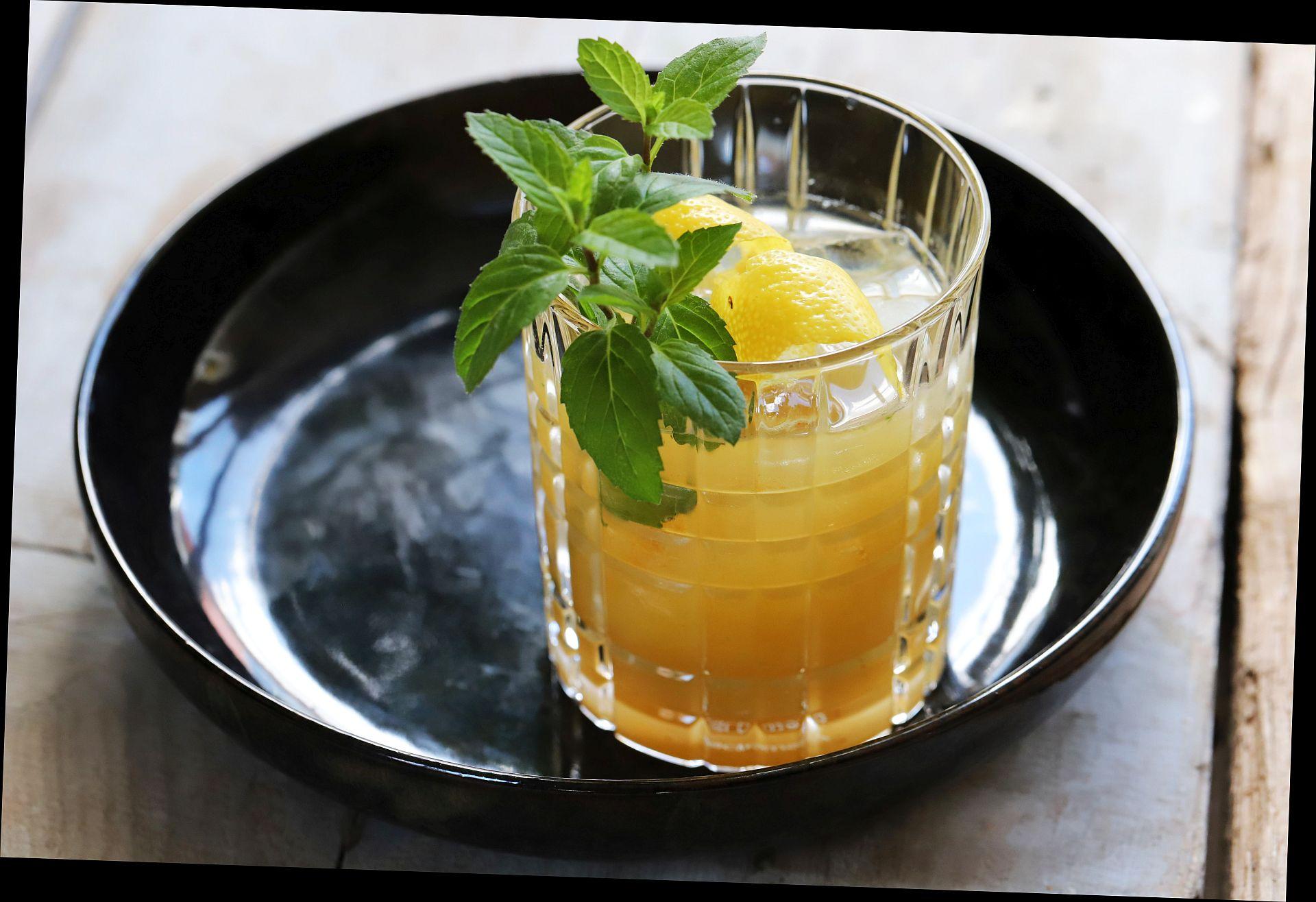 Bourbon Marmelade Minz Smash