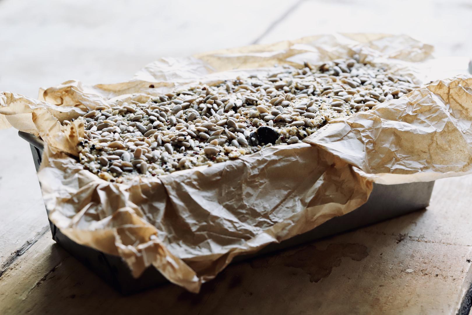 Glutenfreies Brot mit Quinoa