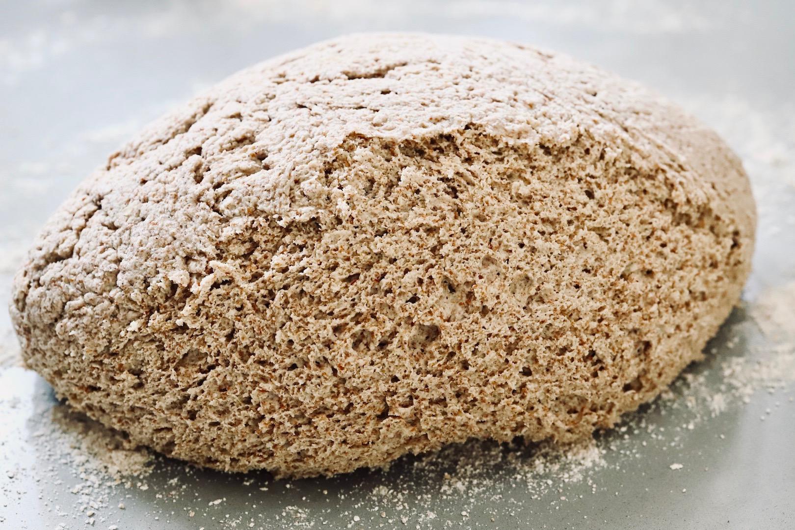 Hafer Brot mit Buchweizen