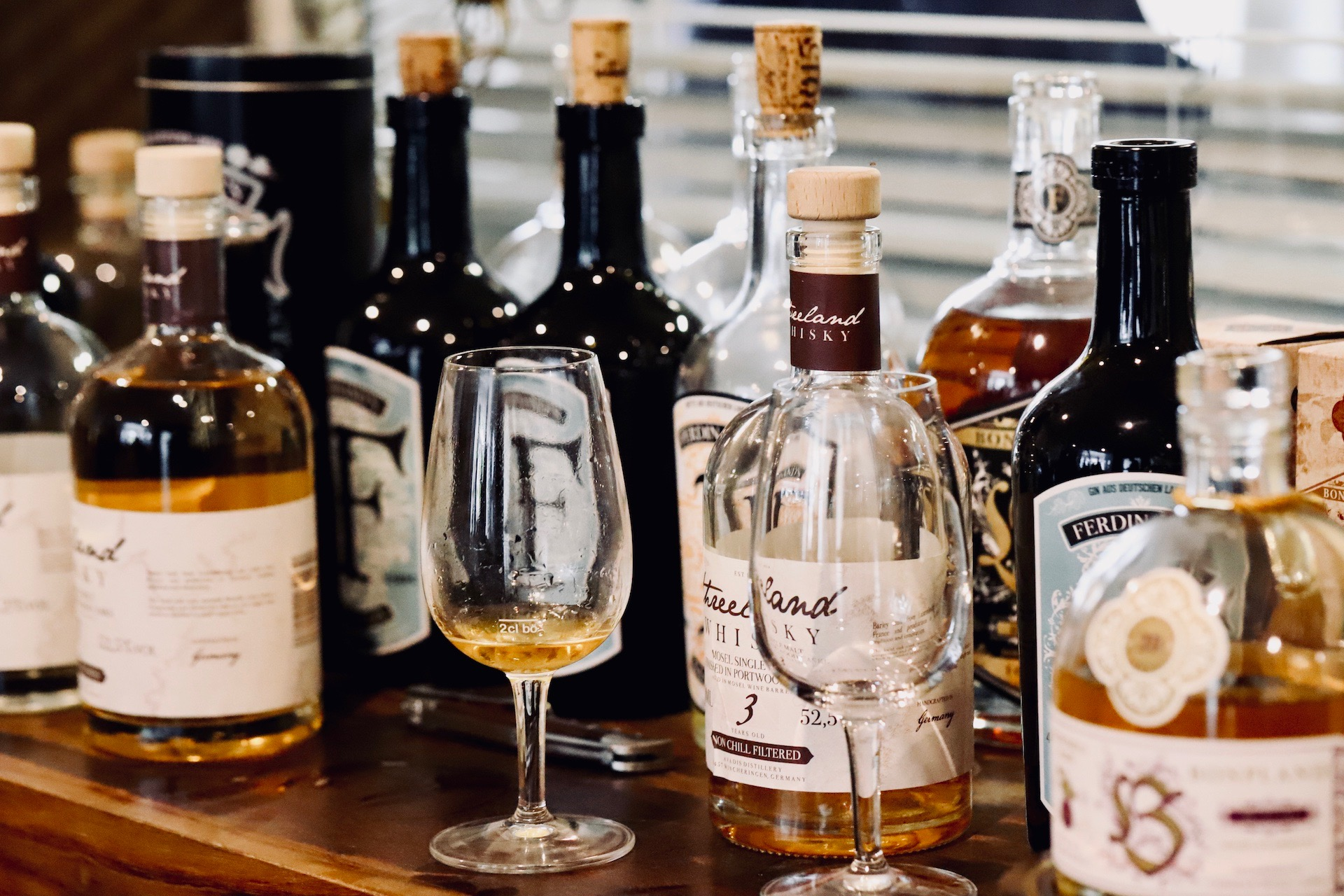 Ferdinands Saar Dry Gin... dazu ein herbstlicher Gin Tonic