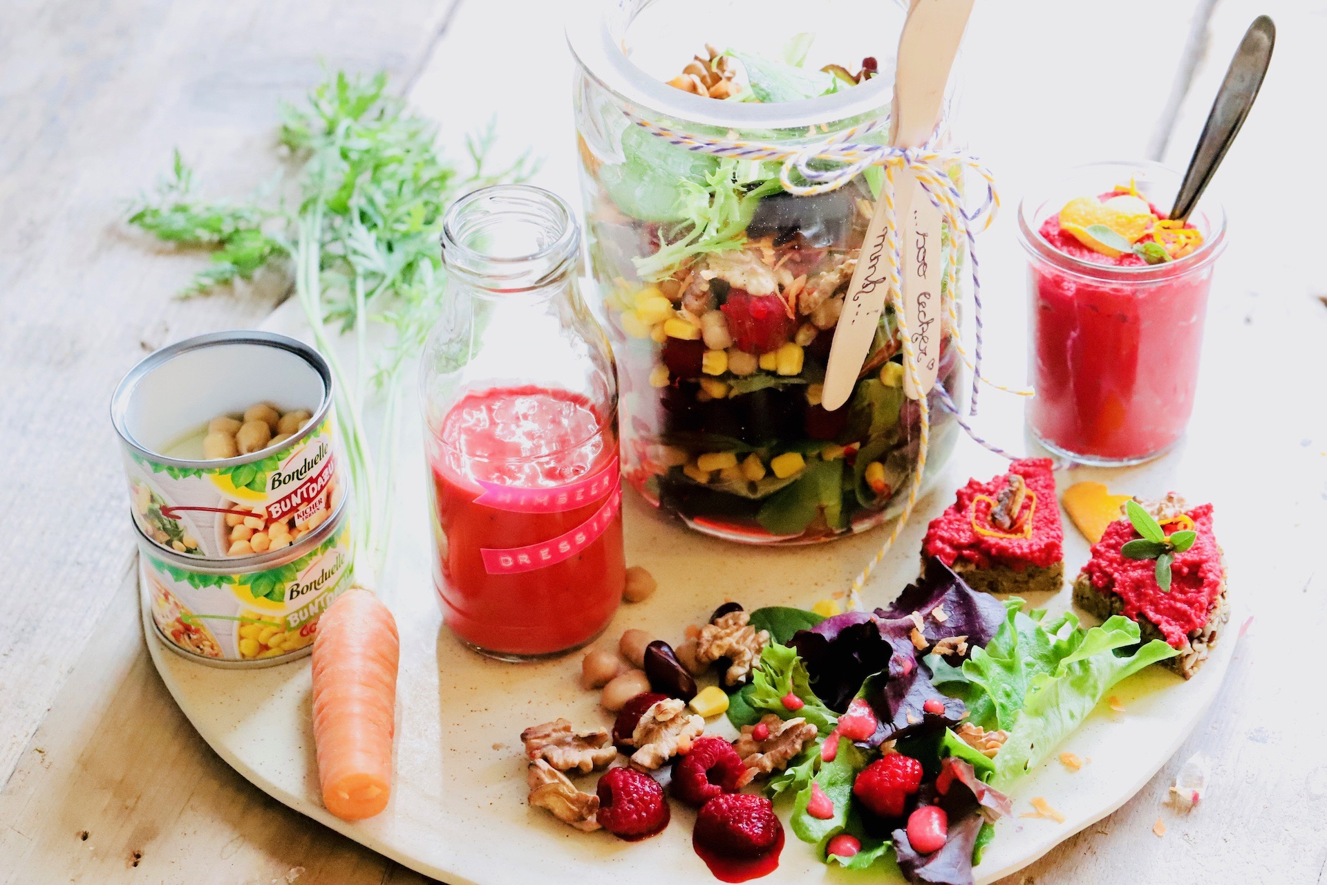 Herbst- bzw. Wintersalat easy & peasy zum Lunch im Büro