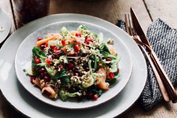 Buchweizenkeim Salat