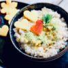 Kokosmilchreis mit Mango und Limette