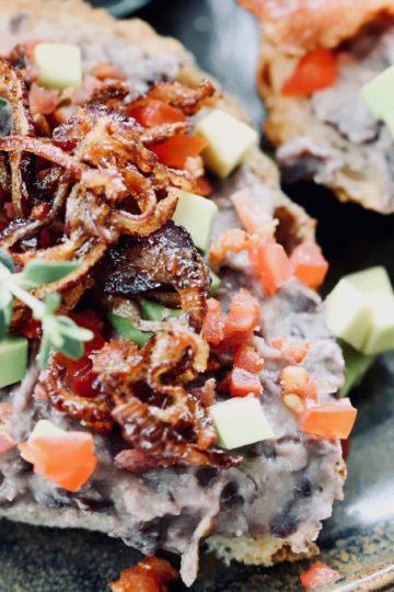 Schwarze-Bohnen & Bacon-Aufstrich