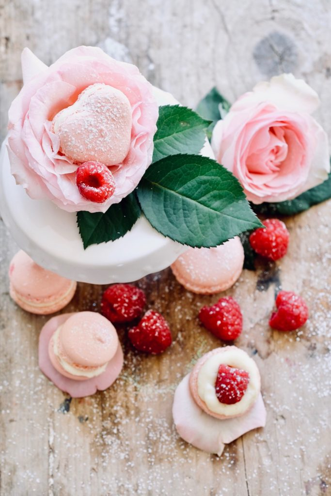 Macaron mit Marc de Mumm