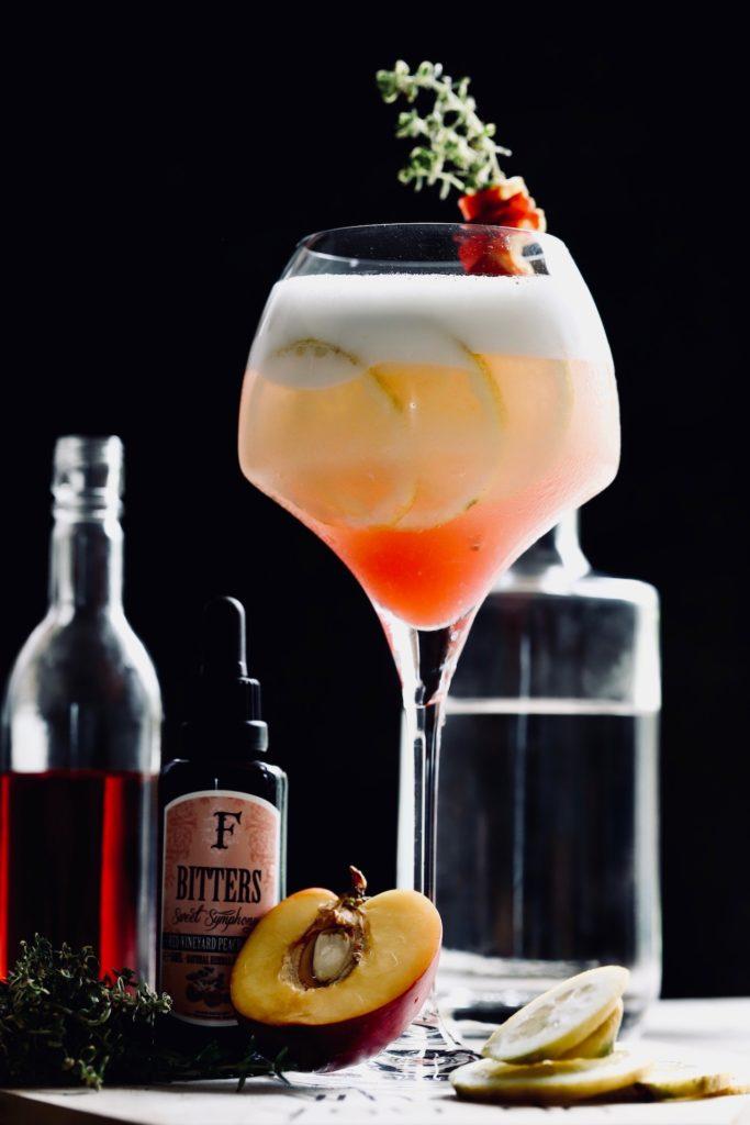 Campari Sour mit Gin